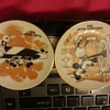 walt disney world plates made in japan