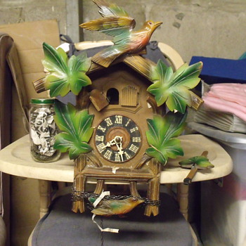 German Cuckoo Clock - Clocks