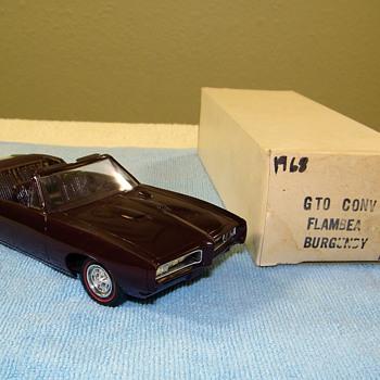 A Few Pontiac and Chevrolet Promo Model Cars