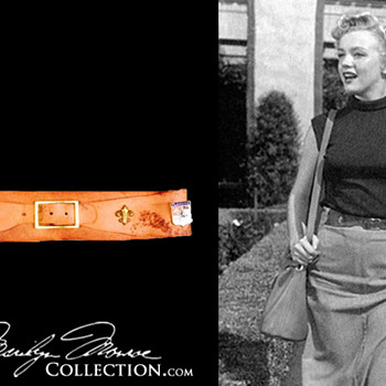 Marilyn Monroe's Personal Leather Belt - Accessories