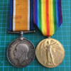 WWI 78th Battalion (Winnipeg Grenadiers) CEF Medal Pair