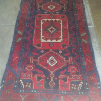 Saturdays Garage Sale Finds - Rugs and Textiles