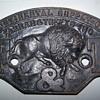 Farrar & Trefts Pre 1900 cast iron boiler name plate