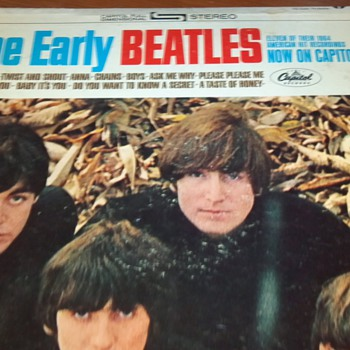 The Early Beatles Vinyl Album - Records
