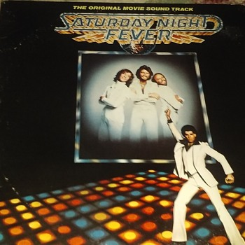 Soundtrack Week..#5..'Saturday Night Fever'..On Double 33 1/3 RPM Vinyl - Records