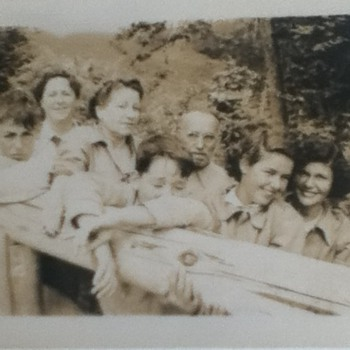 Late 1940s Family Photograph - Photographs