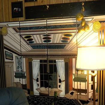 large fireplace screen