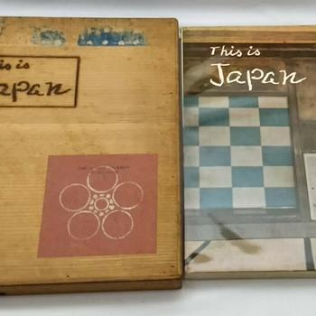 This is Japan Book #2 1955 with Box by the Asahi Shimbun - Asian