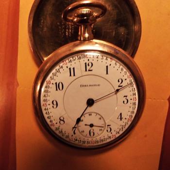 "1915 Illinois ""Burlington"" Railroad Pocket Watch"