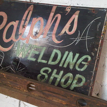 Welding Sign - Signs