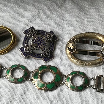 My small collection of antique scottish jewelry  - Fine Jewelry