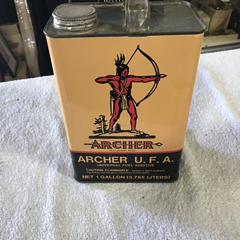 Archer oil can  - Petroliana