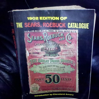 1902 Sears Roebuck Catalogue - Books