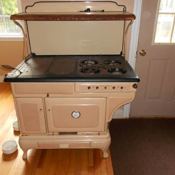iron gas stove