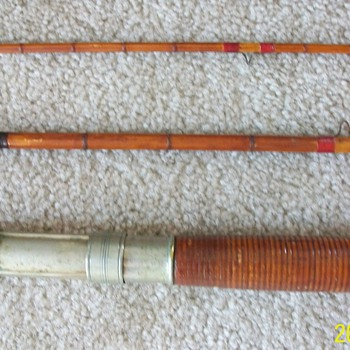 A&B Boston Mass. 306 bamboo fly rod - Fishing