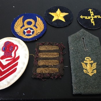 WW2 Era US and German Military Patches ? - Military and Wartime