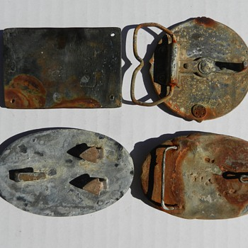Original Civil War Belt Buckles