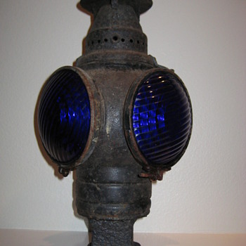 Adlake (Chicago) Railroad Lamp (1907)  - Railroadiana