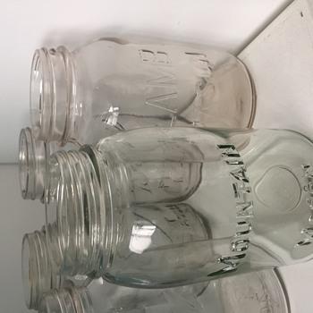 Mountain Mason jar - Bottles