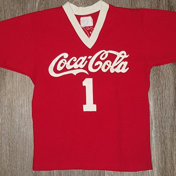 Rare Antique Coca Cola Jersey - Coca-Cola