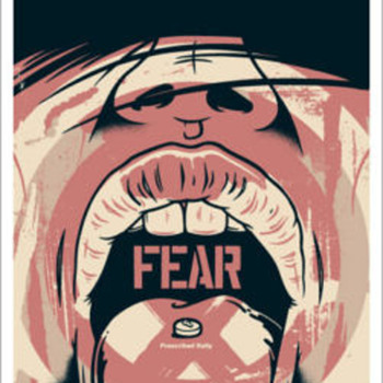 Dave Kinsey Fear Based 2004 (signed/numbered 125) - Art Deco