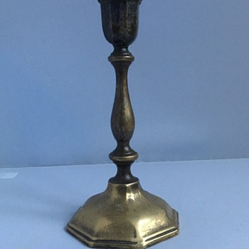 Queen Anne candlestick  - Lamps
