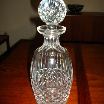 Waterford crystal spirit decanter - Glassware