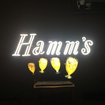 Hamm's Dancing Goblets - Signs