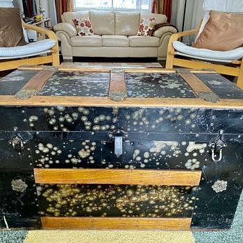 Antique Steamer Trunk - Furniture