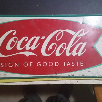 Came from my dad's old store that closed 1965 - Coca-Cola