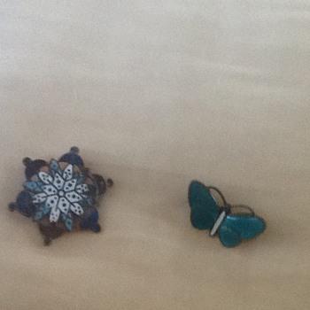Two Enamel Brooches  - Fine Jewelry