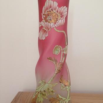 """sweet """"Musset"""" vase of Legras - Art Nouveau"""