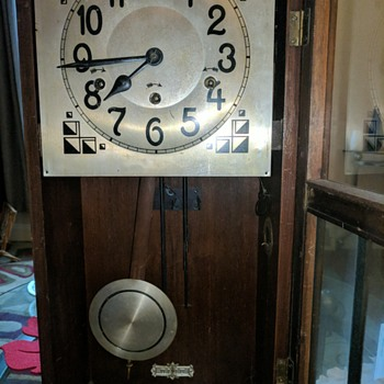 Possibly Gustov Becker wall clock? - Clocks
