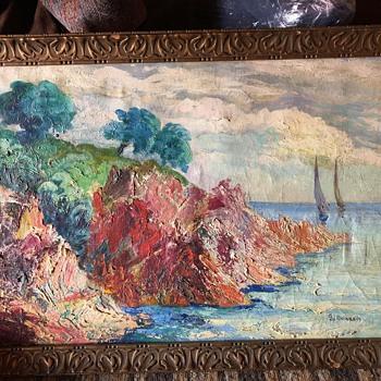 Antique Oil Painting - Fine Art