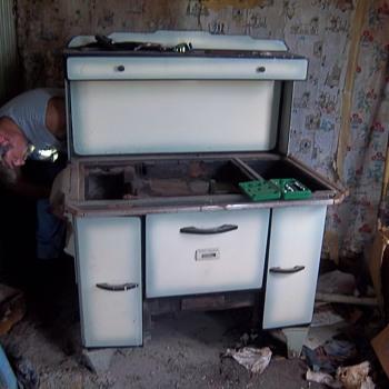Grandma's old wood cook stove