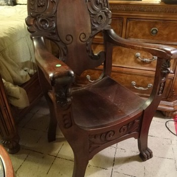 Carved Chair - Furniture