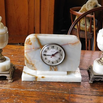 Heavy Hammond Clock {$195.00} - Clocks
