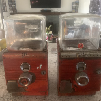 Northwestern 49 Gumball Machines - Coin Operated