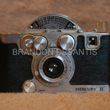 Universal Camera Corp, Univex Mercury II, Model CX. One left in original condition.  The other was given a make over. - Cameras
