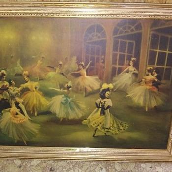 merry widow waltz picture - Fine Art