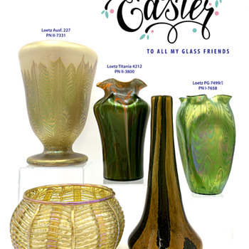 Happy Easter 2020 - Art Glass
