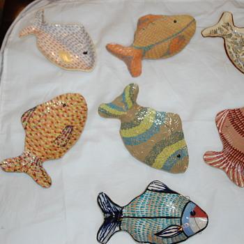 Hand Formed Pottery Ceramics FISH 1 - Pottery