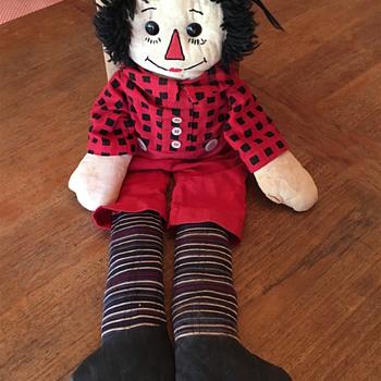 Raggedy Andy doll (hi Mani!) - Dolls