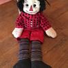 Raggedy Andy doll (hi Mani!)