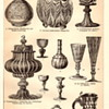 Some old German Antique Art Glass Drawings or Lithographs
