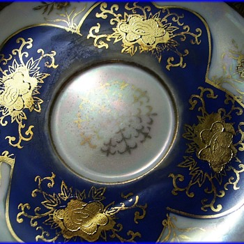 Vintage Tea Cup and Saucer - Hand Painted - Shafford - China and Dinnerware