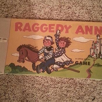 Raggedy Ann A Little Folks Game