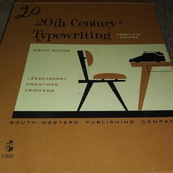TYPEWRITING TEXTBOOK - Books