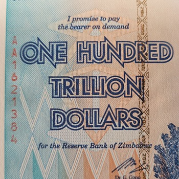 100 Trillion Dollars- Zimbabwe  - Politics