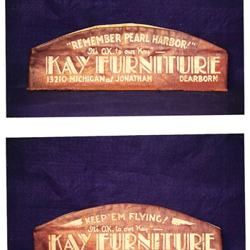 """""""It's O.K. To Owe Kay""""  KAY FURNITURE Cap"""